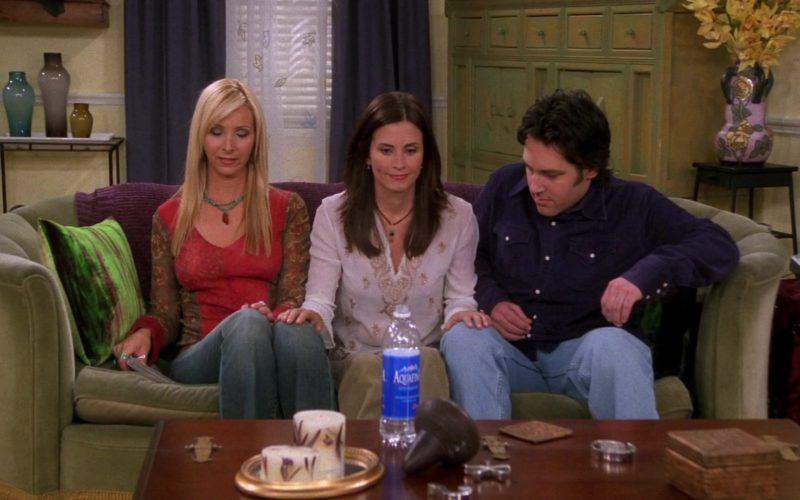 Aquafina Water in Friends Season 9 Episode 17 (1)