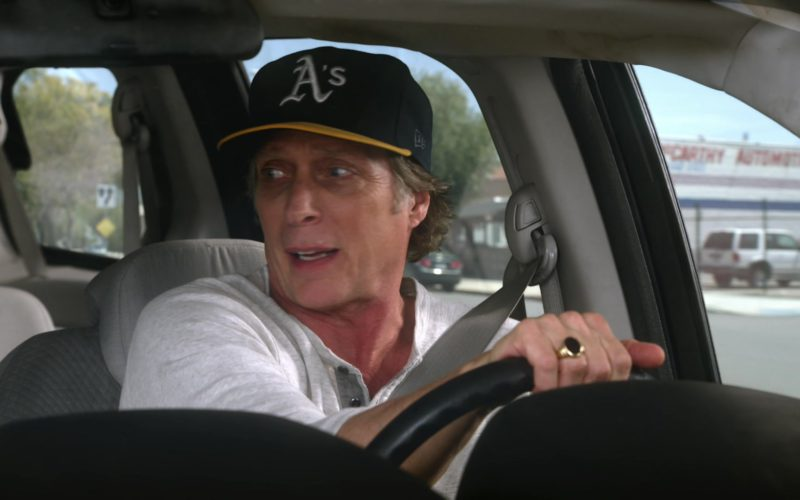 A's Oakland Athletics New Era Cap Worn by William Fichtner in Mom (1)