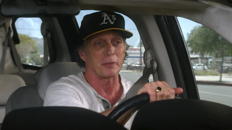 A's  Oakland Athletics New Era Cap Worn by William Fichtner in Mom - Season 6, Episode 19, Lumbar Support and Old Pork (2019) TV Show Product Placement