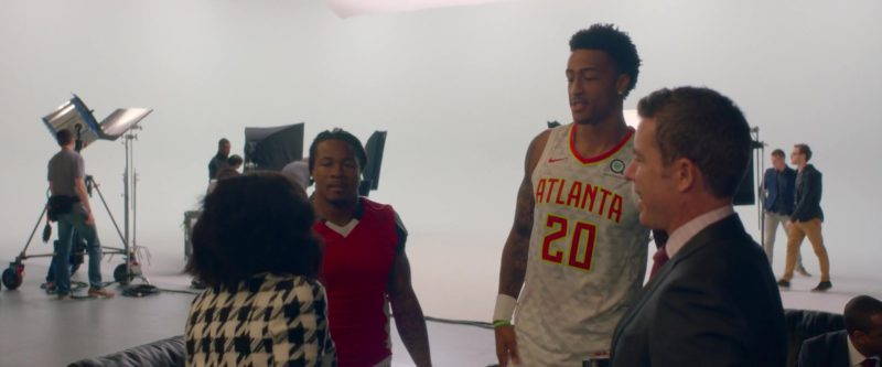 Atlanta Hawks x Nike Jersey in What Men Want (2019) - Movie Product Placement