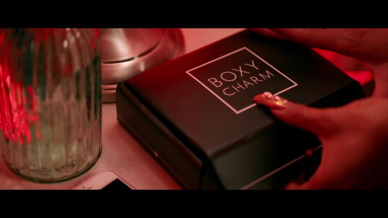 BOXYCHARM Monthly Beauty and Makeup Box Subscription in Emotional by Saweetie feat. Quavo (2019) - Official Music Video Product Placement