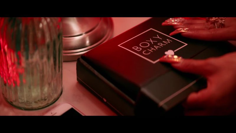 BOXYCHARM Monthly Beauty and Makeup Box Subscription in Emotional by Saweetie feat. Quavo (2019) Official Music Video Product Placement