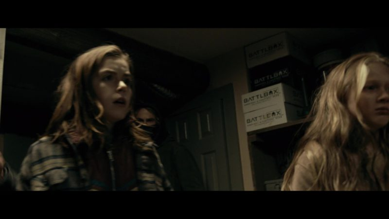 BattlBox Survival Gear and Outdoor Gear Boxes in The Silence (2019) - Movie Product Placement