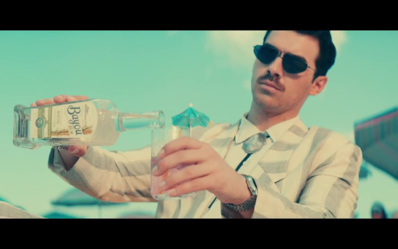 Bayou White Rum Drunk by Joe Jonas in Cool by Jonas Brothers (1)
