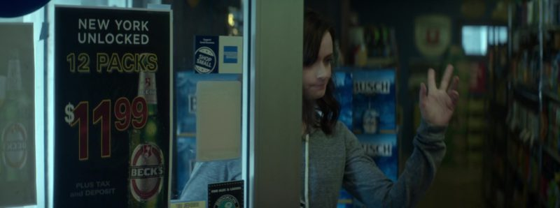 Beck's Beer Poster in Crypto (2019) - Movie Product Placement