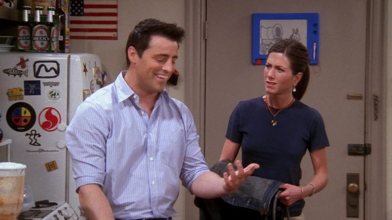 """Beck's Beer in Friends Season 9 Episode 19 """"The One With Rachel's Dream"""" (2003) - TV Show Product Placement"""