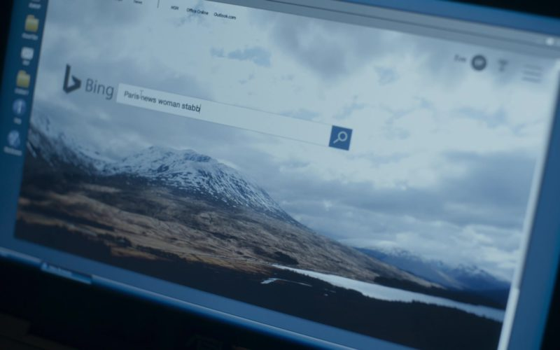 Bing Search Engine in Killing Eve (1)
