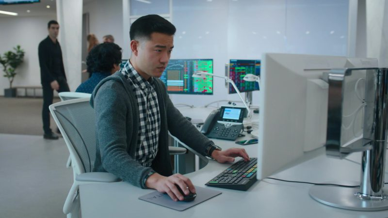Bloomberg Terminal Used by Daniel K. Isaac (Ben Kim) in Billions - Season 4, Episode 6, Maximum Recreational Depth (2019) - TV Show Product Placement