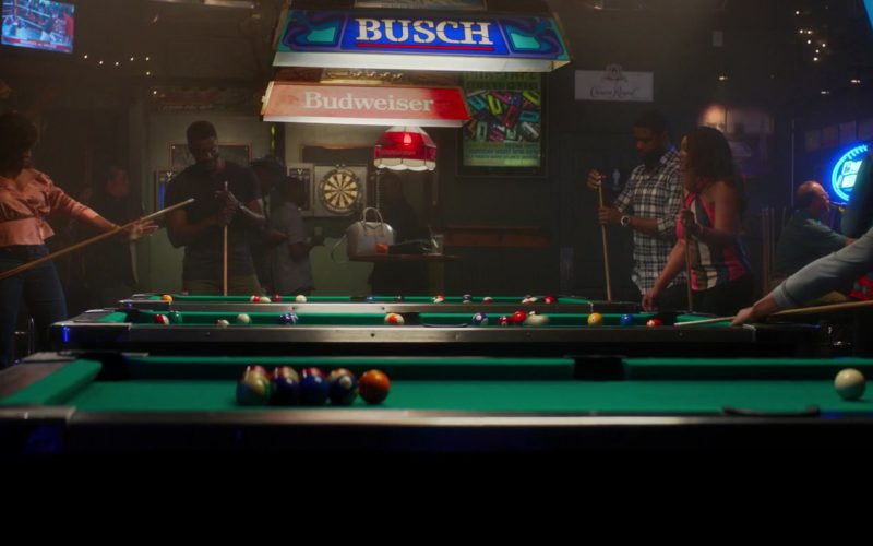 Busch and Budweiser Pool Table Lights in What Men Want (1)