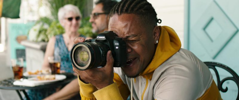 Canon EOS 5D Camera Used by Cuba Gooding Jr. in Bayou Caviar (2018) Movie Product Placement