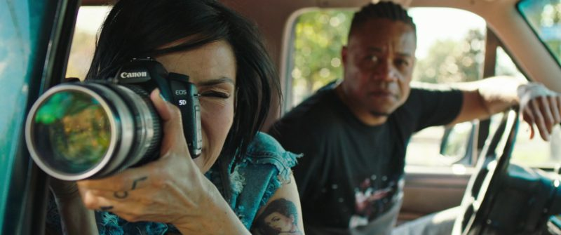 Canon EOS 5D Camera Used by Famke Janssen in Bayou Caviar (2018) - Movie Product Placement