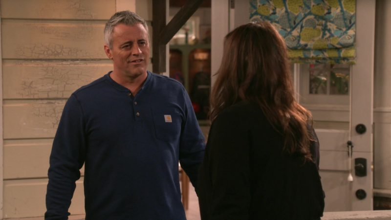 Carhartt Shirt Worn by Matt LeBlanc in Man with a Plan - Season 3, Episode 12, Clean Country Living (2019) TV Show Product Placement