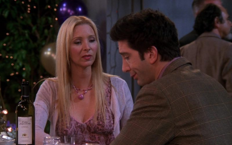 Casa Lapostolle Wine in Friends Season 9 Episode 20 (5)