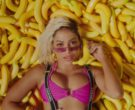 Chanel Suspenders Worn by Anitta in Banana ft. Becky G (1)