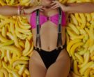 Chanel Suspenders Worn by Anitta in Banana ft. Becky G (13)