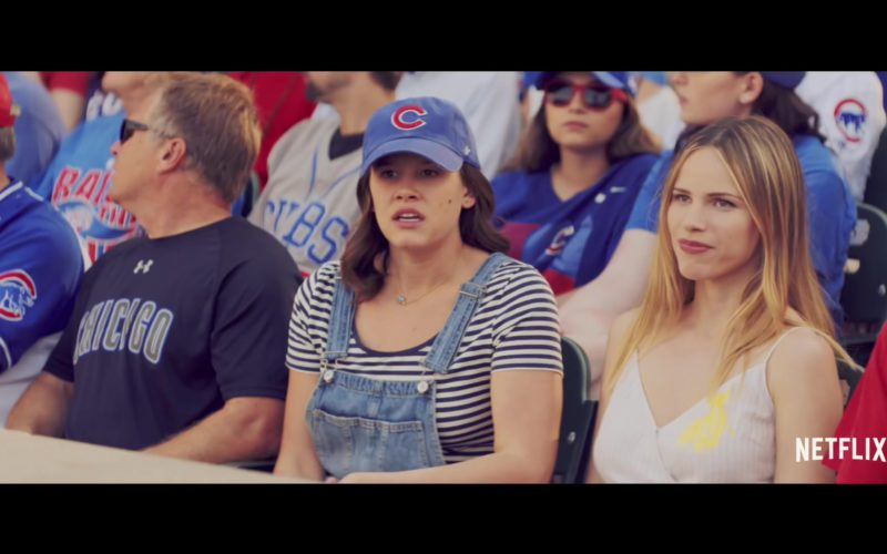 Chicago Cubs Baseball Team Cap Worn by Sosie Bacon in The Last Summer (1)