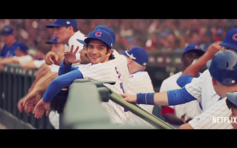 Chicago Cubs Baseball Uniform and Cap Worn by Tyler Posey (1)