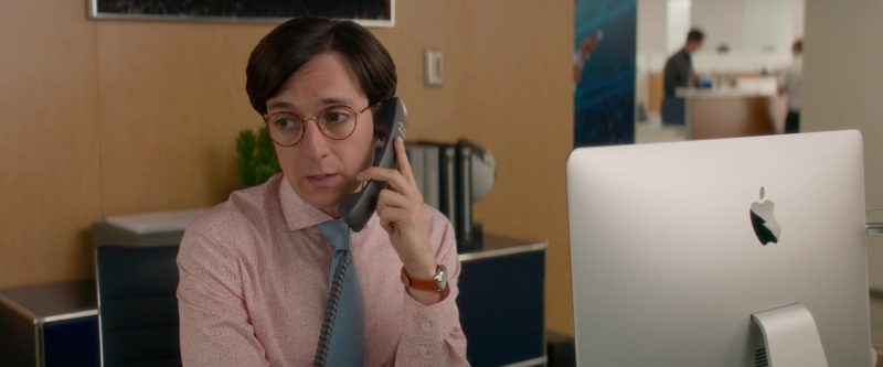 Cisco Telephone and Apple iMac Computer Used by Josh Brener in What Men Want (2019) - Movie Product Placement