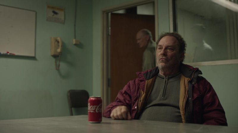 Coca-Cola Can Held by Stephen Root in Barry - Season 2, Episode 1, The Show Must Go On, Probably? (2019) - TV Show Product Placement