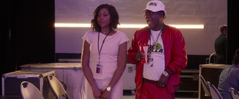 Coca-Cola Cup Held by Tracy Morgan in What Men Want (2019) - Movie Product Placement