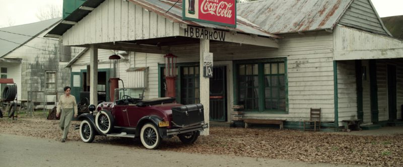 Coca-Cola Sign in The Highwaymen (2019) Movie Product Placement