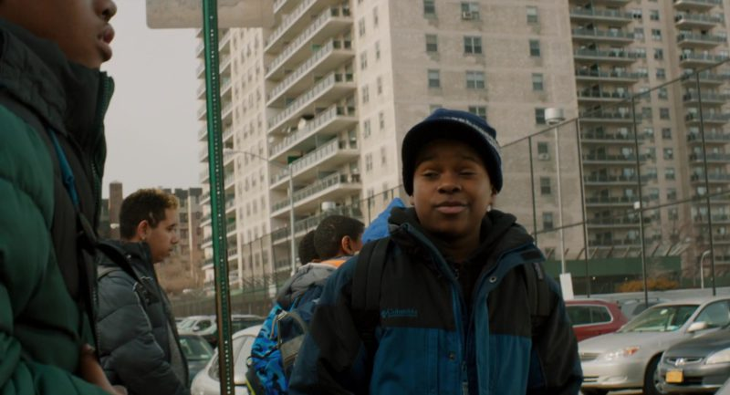 Columbia Boys Jacket in The Upside (2017) - Movie Product Placement