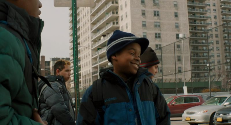 Columbia Boys Jacket in The Upside (2017) Movie