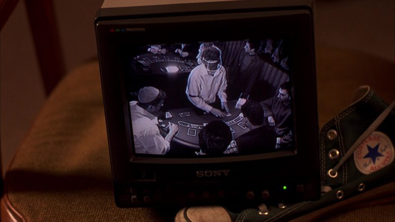 Converse Shoe and Sony Trinitron TV in Boiler Room (2000) Movie Product Placement