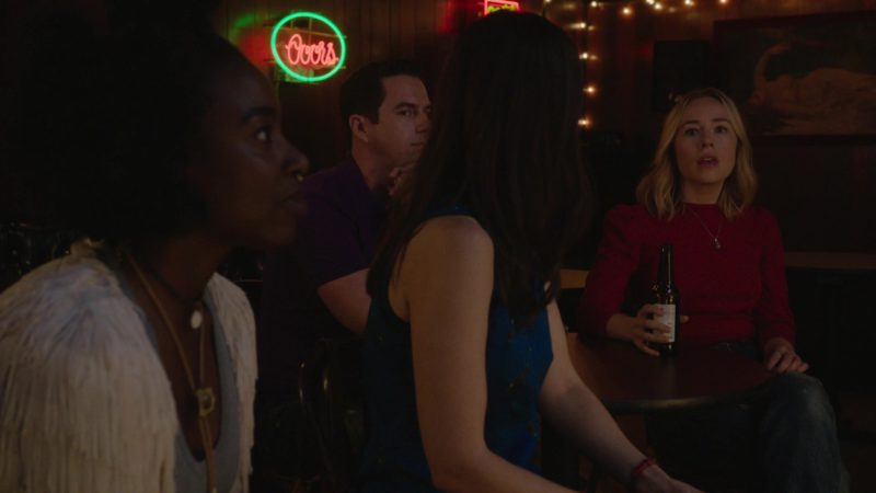 Coors Beer Neon Sign in Barry - Season 1, Episode 8, Chapter Eight: Know Your Truth (2018) - TV Show Product Placement