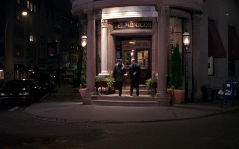 Delmonico's Steak House New York City in Friends Season 9