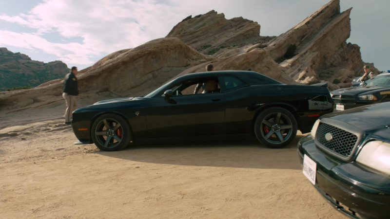 Dodge Challenger SRT Black Car in NCIS: Los Angeles - Season 10, Episode 21, The One That Got Away (2019) TV Show Product Placement