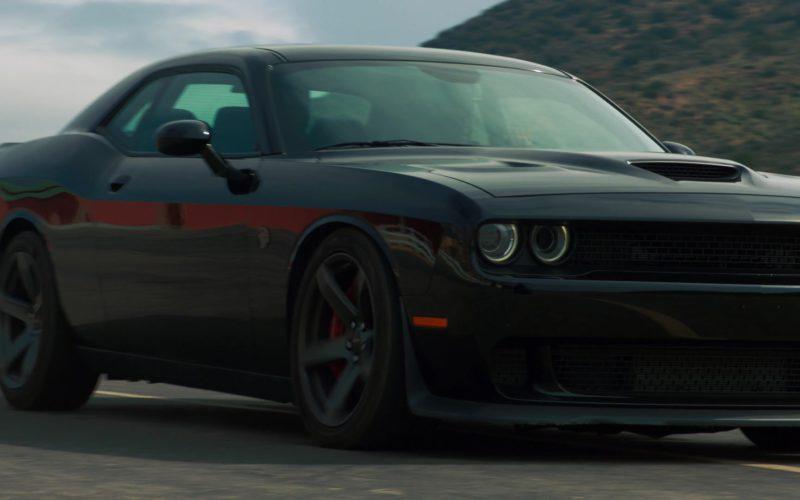 Dodge Challenger SRT Black Car in NCIS Los Angeles (5)