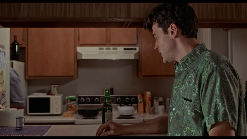 Dos Equis XX Special Lager Drunk by Ron Livingston in Office Space (1999) Movie Product Placement