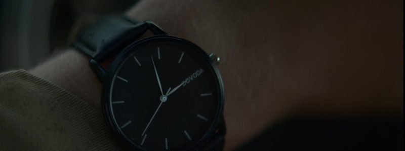 Dovoda Men's Black Wrist Watch Worn by Beau Knapp in Crypto (2019) Movie