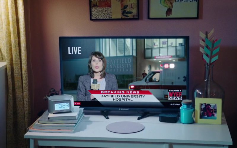 Element Electronics TV in Happy Death Day 2U (1)
