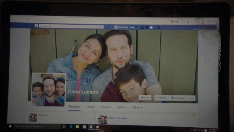 Facebook Social Network in Barry - Season 1, Episode 4, Chapter Four: Commit ... to YOU (2018) TV Show