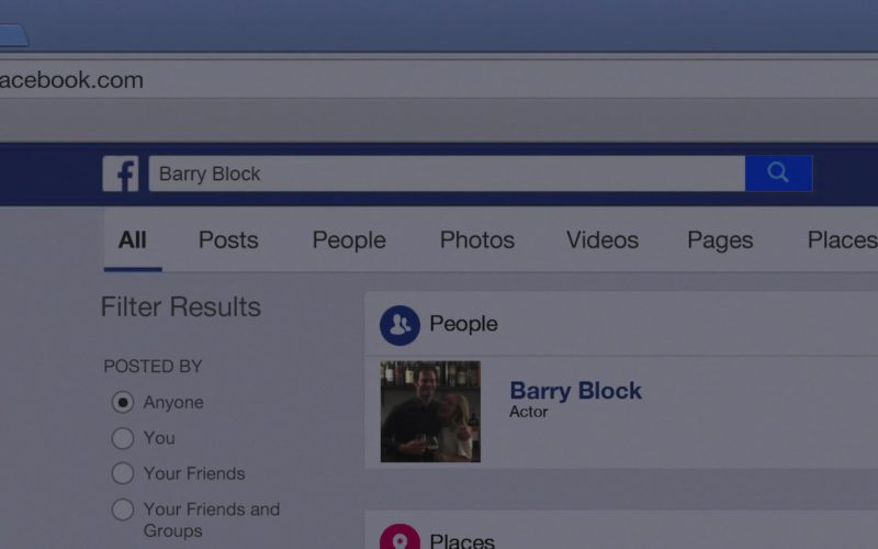 Facebook Social Network in Barry
