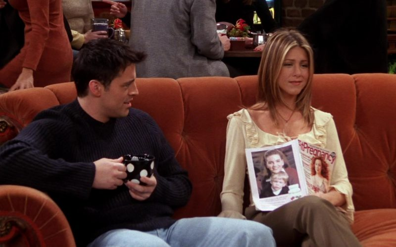 Fit Pregnancy Magazine Readed by Jennifer Aniston (Rachel Green) in Friends (6)
