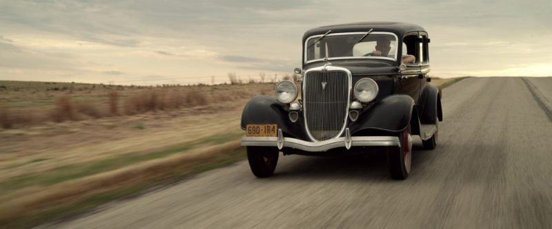 Ford V8 Car Used by Kevin Costner and Woody Harrelson in The Highwaymen (2019) - Movie Product Placement