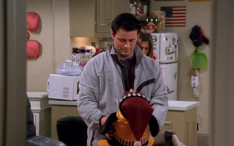 Foursquare Jacket Worn by Matt LeBlanc (Joey Tribbiani) in Friends Season 9 Episode 17 (2)
