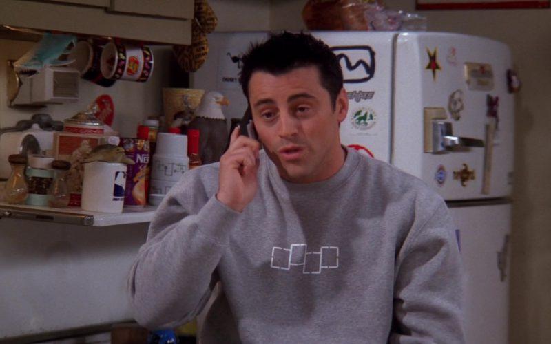 Foursquare Sweatshirt Worn by Matt LeBlanc (Joey Tribbiani) in Friends Season 9 Episode 9 (2)