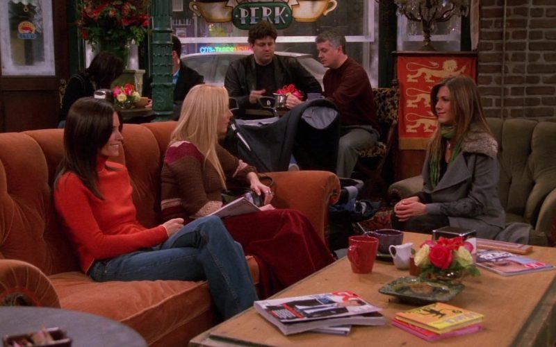 GQ Magazine in Friends Season 9 Episode 13