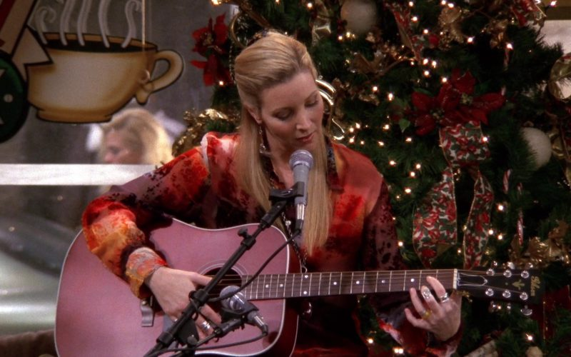Gibson Guitar Played by Lisa Kudrow (Phoebe Buffay) in Friends (1)