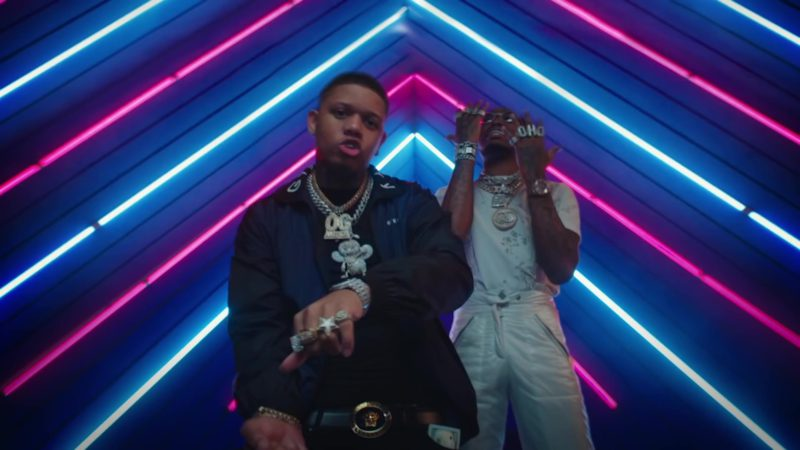 """Givenchy Jacket Worn by Yella Beezy in """"Bacc At It Again"""" (2019) - Official Music Video Product Placement"""