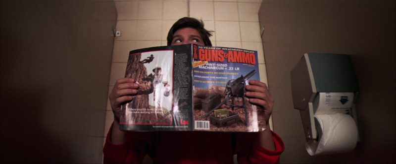 Guns & Ammo Magazine in The Goonies (1985) Movie