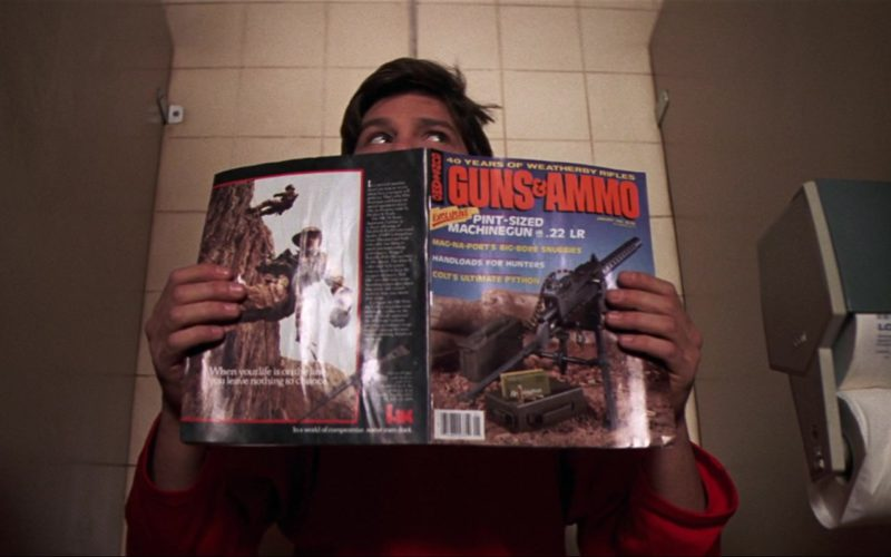 Guns & Ammo Magazine in The Goonies (2)