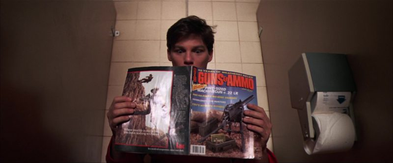 Guns & Ammo Magazine in The Goonies (1985) - Movie Product Placement