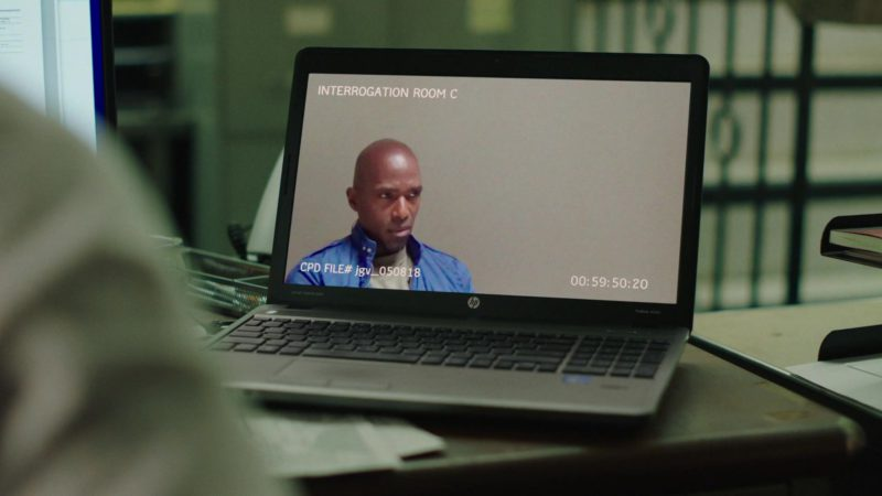 """HP Laptop in The Chi - Season 2, Episode 3, """"Past Due"""" (2019) TV Show Product Placement"""