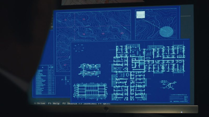 HP Monitor in The Enemy Within - Season 1, Episode 10, Chigorin (2019) - TV Show Product Placement