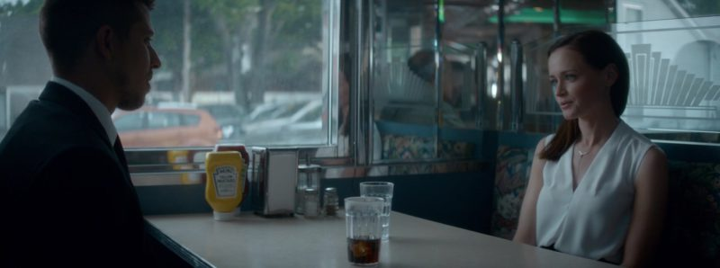 Heinz Yellow Mustard in Crypto (2019) - Movie Product Placement